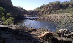 Famous Nitmaluk Gorge near Katherine