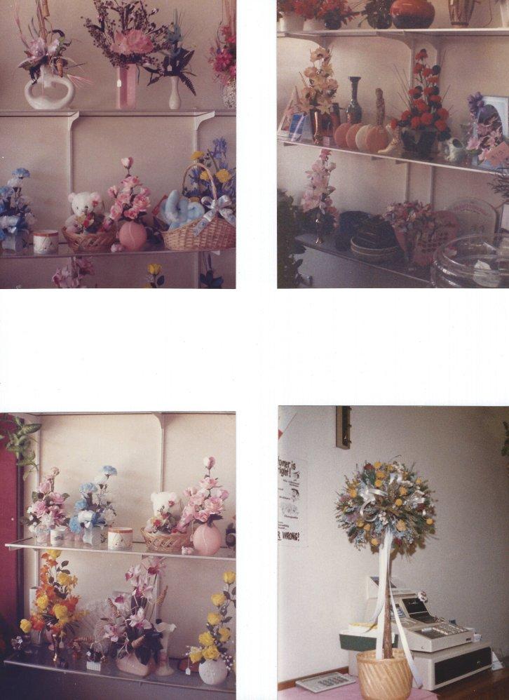 Articficail Floral displays