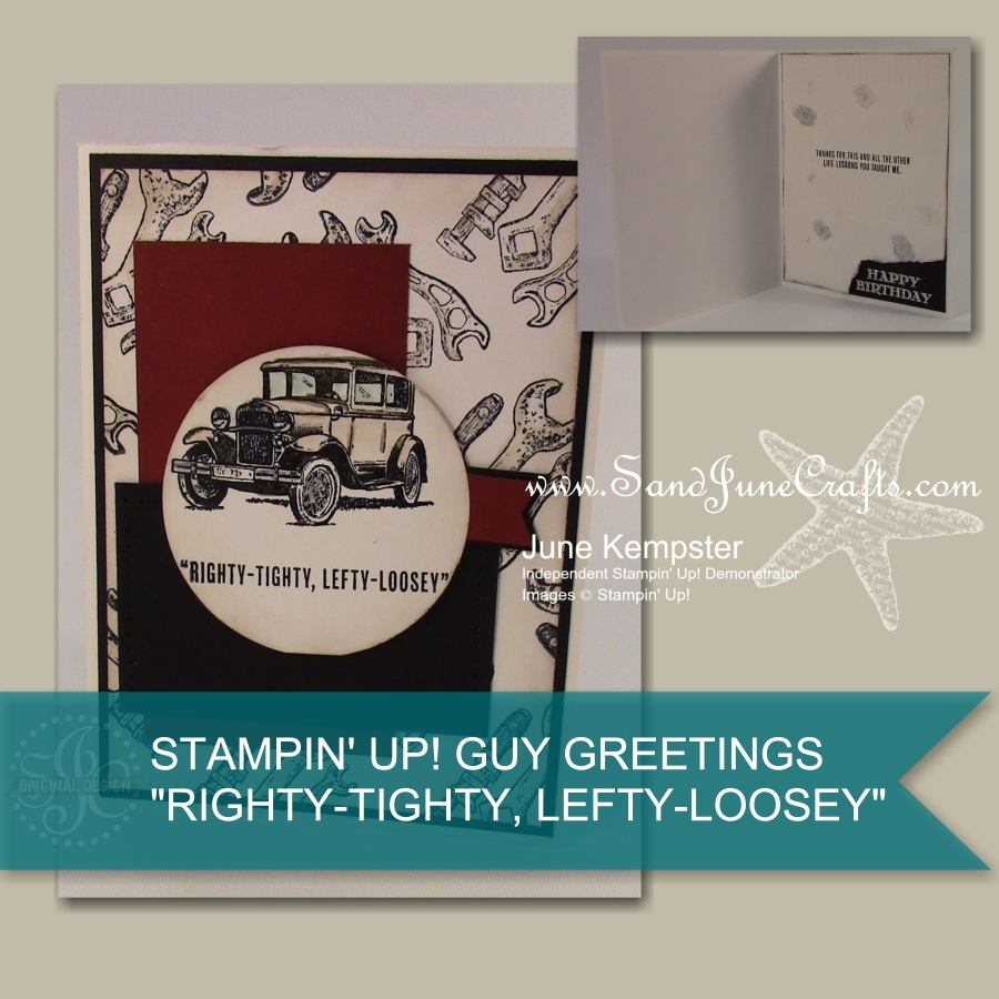 3 Cards, 1 Stamp Set – Guy Greetings Pt2