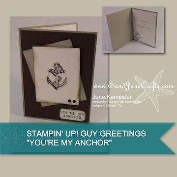 3 Cards, 1 Stamp Set – Guy Greetings Pt1
