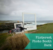 Pinterest Photo booth Hack
