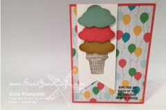 Sprinkles of Life stamp set with Cherry on Top Designer Series Paper Stack
