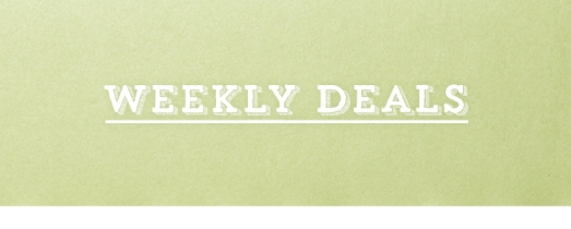 Weekly Deals Indigo