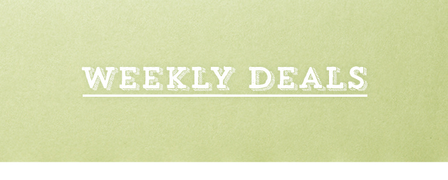 Weekly Deals Valid to 18th Nov 2015