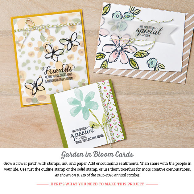 GARDEN IN BLOOM CARDS PIC