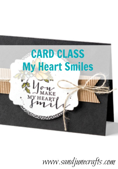 Card Class-My Heart Smiles
