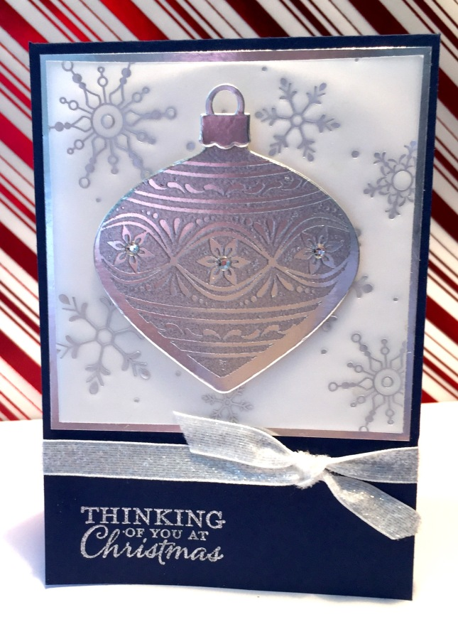 Card Class – Thinking of You at Christmas