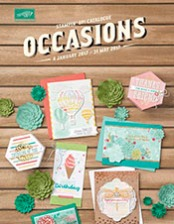 Stampin' Up! 2017 Occasions Catalogue