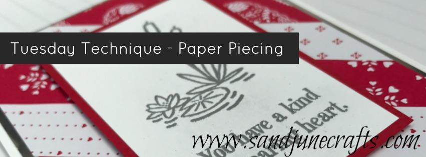 Paper Piecing TuesdayTechnique