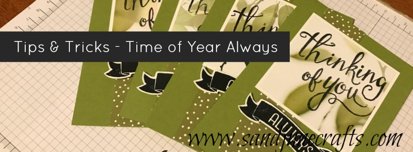 Tips and Tricks – Time Of The year Always