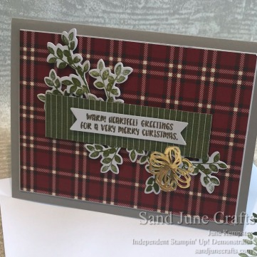 Festive Farmhouse Card and Envelope card front.