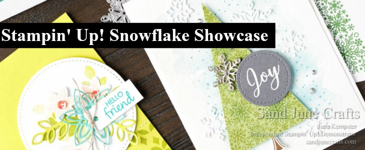 Stunning Stampin' Up! SnowflakeShowcase