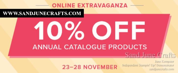 Stampin' Up! Online ShoppingExtravaganza